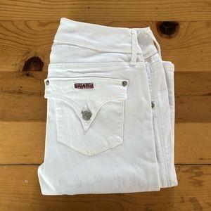 White Hudson Collin Skinny Jeans size 28